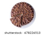 isolated delicious chocolate... | Shutterstock . vector #678226513