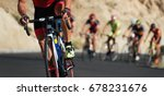 cycling competition cyclist... | Shutterstock . vector #678231676
