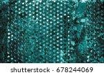 Dark Green Texture Pattern...