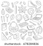 Vector Doodle Icons Collection...