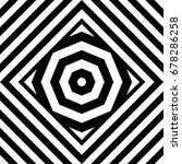 seamless tile with black white...   Shutterstock .eps vector #678286258