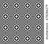seamless pattern with black... | Shutterstock .eps vector #678286279