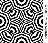 seamless pattern with black... | Shutterstock .eps vector #678286429