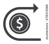 revert money transaction ... | Shutterstock .eps vector #678315088