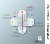 creative infographic design...   Shutterstock .eps vector #678319750