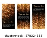 collection of new year's... | Shutterstock .eps vector #678324958