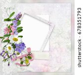 Vintage Background With Lace ...
