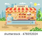 stock vector illustration... | Shutterstock .eps vector #678352024