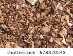 Wooden Splinters Closeup....