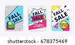 sale website banner template....   Shutterstock .eps vector #678375469