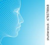 concept or conceptual 3d... | Shutterstock . vector #678378868