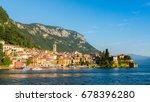 varenna  lago di lecco ... | Shutterstock . vector #678396280