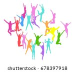 victory is ours bright idea  | Shutterstock .eps vector #678397918