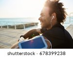 portrait of smiling young... | Shutterstock . vector #678399238