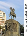 Small photo of IZMIR, TURKEY - OCTOBER 07: Republic square and Ataturk Monument , Alsancak in October 07, 2015 in Izmir, Turkey. Izmir is the third most populous city in Turkey.