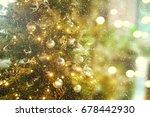christmas background | Shutterstock . vector #678442930