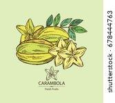 Star Fruit  Carambola Fruit ...