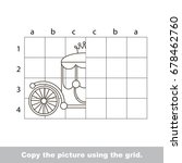 finish the simmetry picture...   Shutterstock .eps vector #678462760