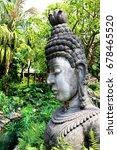 buddha statue   Shutterstock . vector #678465520