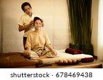 massage and spa  thai massage... | Shutterstock . vector #678469438