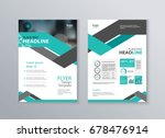 abstract cover and  layout... | Shutterstock .eps vector #678476914