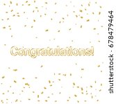 congratulations lettering with... | Shutterstock .eps vector #678479464