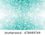 abstract glittery teal green... | Shutterstock . vector #678489769