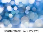 lights bokeh  soft focus on... | Shutterstock . vector #678499594