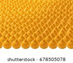 closeup picture of many khoya... | Shutterstock . vector #678505078