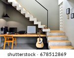decorate the loft style...   Shutterstock . vector #678512869