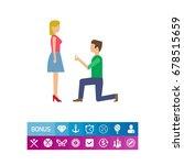 making proposal   Shutterstock .eps vector #678515659