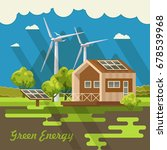 bio green energy poster. eco...   Shutterstock .eps vector #678539968