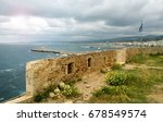 The Fortified Wall Of The Town...