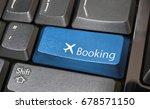 Airplane Symbol Button On...