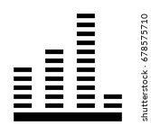 music beats icon | Shutterstock .eps vector #678575710