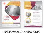 template vector design for... | Shutterstock .eps vector #678577336