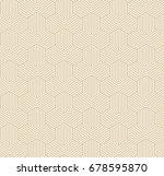 seamless geometric pattern | Shutterstock .eps vector #678595870