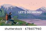 high quality landscape... | Shutterstock .eps vector #678607960