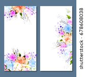 social media banners template... | Shutterstock .eps vector #678608038