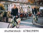 budapest  hungary   26 october  ...   Shutterstock . vector #678619894