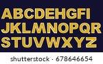 alphabet | Shutterstock .eps vector #678646654