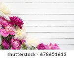 Floral Frame   Background With...