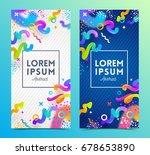 vector illustration. two... | Shutterstock .eps vector #678653890