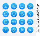 video  audio  multimedia icons