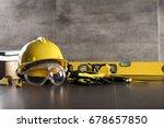contractor. builder.... | Shutterstock . vector #678657850