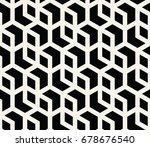 geometric pattern | Shutterstock .eps vector #678676540