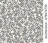 geometric pattern | Shutterstock .eps vector #678676750