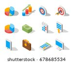 business elements for web... | Shutterstock .eps vector #678685534
