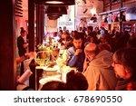 madrid  spain   october 21 ...   Shutterstock . vector #678690550