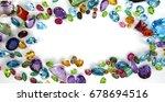 beautiful topaz amethyst... | Shutterstock . vector #678694516